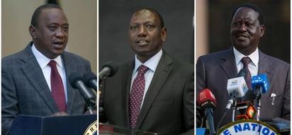 Uhuru, Raila, Ruto lead Kenyans in mourning fallen veteran politician Kenneth Matiba