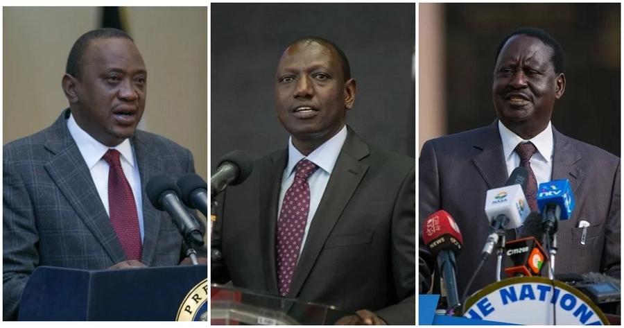 Uhuru, Raila, Ruto wamwomboleza Kenneth Matiba