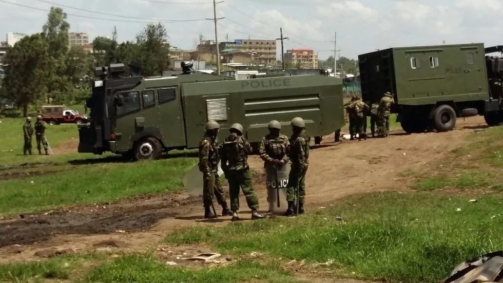 NASA yalazimika kuhamishia mkutano Kibera baada ya polisi kuuzingira uwanja wa Kamukunji