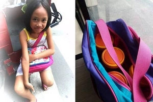 Nakakaawa naman siya! Inspiring young Pinay sells peanut butter after school to help unemployed parents