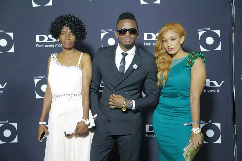 Diamond Platnumz's mother defends him after cheating rumours heat up