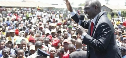 Ruto's message to ladies on International Women's Day