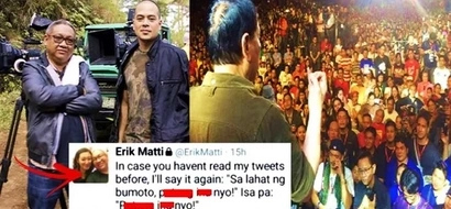 Napamura na sa galit! 'Darna' director Erik Matti outraged netizens by cursing at Filipinos who voted for Duterte!