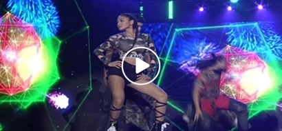 Nadine Lustre shows off her toned body in this fierce dance number with Enchong Dee and Inigo Pascual