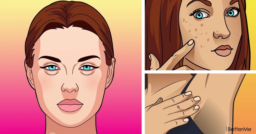 Skin transformations may demonstrate serious health issues