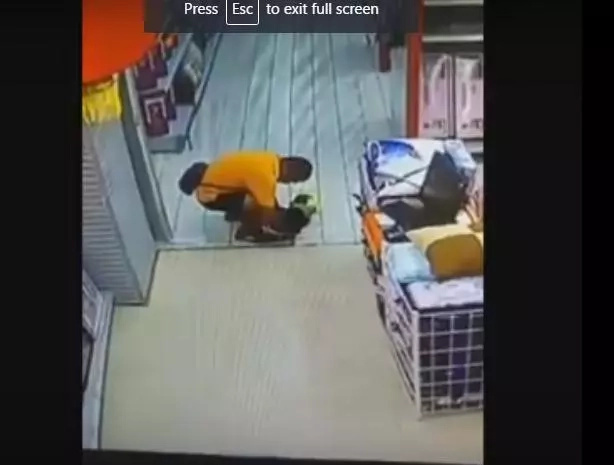 Dad Kills Son In Tragic Supermarket Incident (Video)