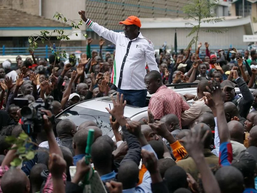 State House aide calls for the arrest of Raila Odinga