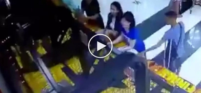 Lumpong magnanakaw! Sneaky Pinoy with disability steals iPhone from woman in SM mall