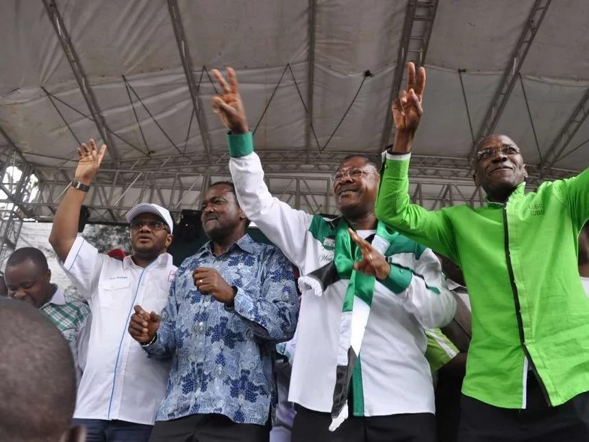 OUTRAGE after Wetangula's Party members are forcefuly decamped to Jubilee