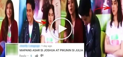 Julia Barretto seems to be heartbroken while watching Joshua Garcia laughing & speaking with Maris Racal! Watch the controversial video!