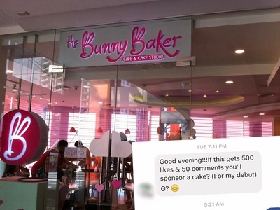 Local Bakeshop's badass reply to this netizen's dare will literally kill you