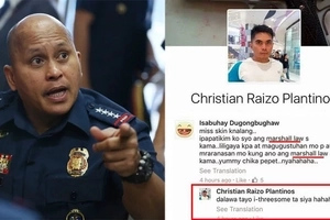 Pulis bang matatawag dyan? Bato promises action against cop who maliciously insulted Anti-Marcos protester