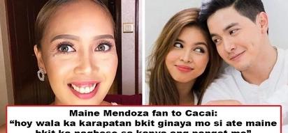 Panget daw siya at walang karapatan! Maine Mendoza fan insults Cacai Bautista but comedienne has the perfect response that shows true class