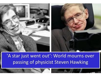 Stephen Hawking, world-renowned physicist and theorist, dies at 76: Mga alagad ng agham, nagluluksa