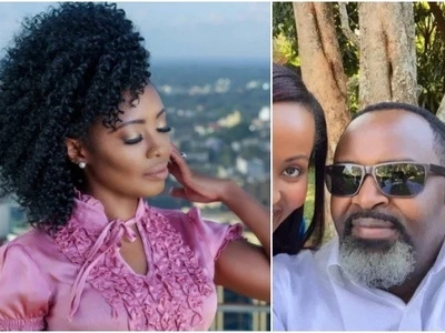 Kambua's husband, who Kenyans called 'a Mzee' turns a year older and Kambua had this to say