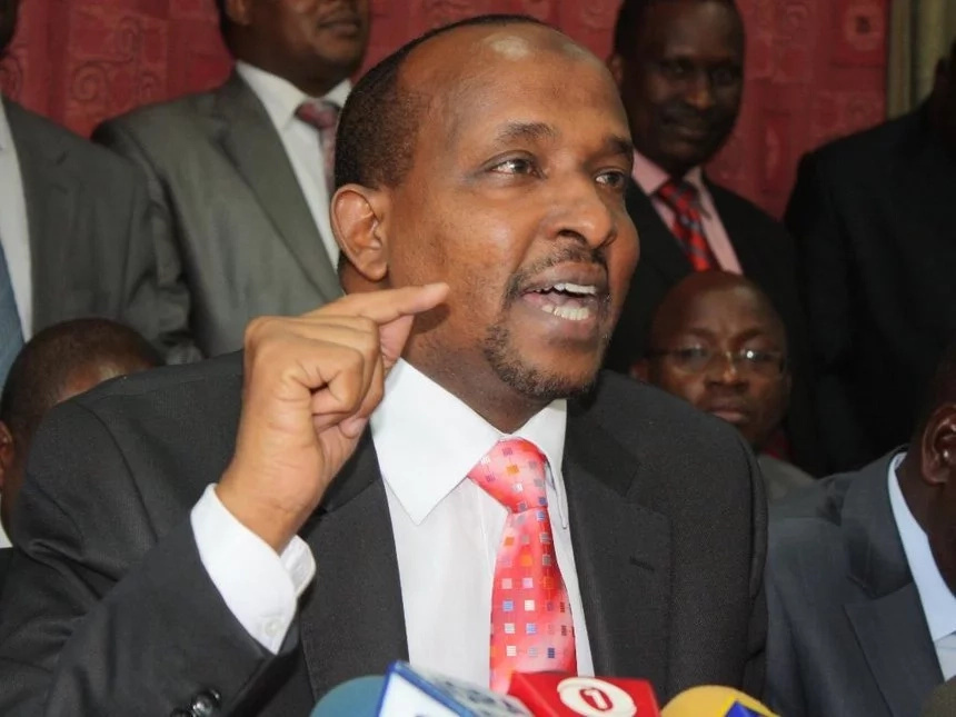 I cannot follow KSh 6 million because I am not interested - Duale pities his rival who lost election petition
