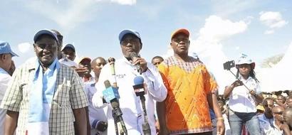Umati uliohudhuria mkutano wa NASA Kitengela waingiza Jubilee baridi (picha)