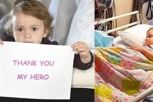 Valiente niña de 3 años tiene segunda oportunidad tras recibir trasplante de médula de