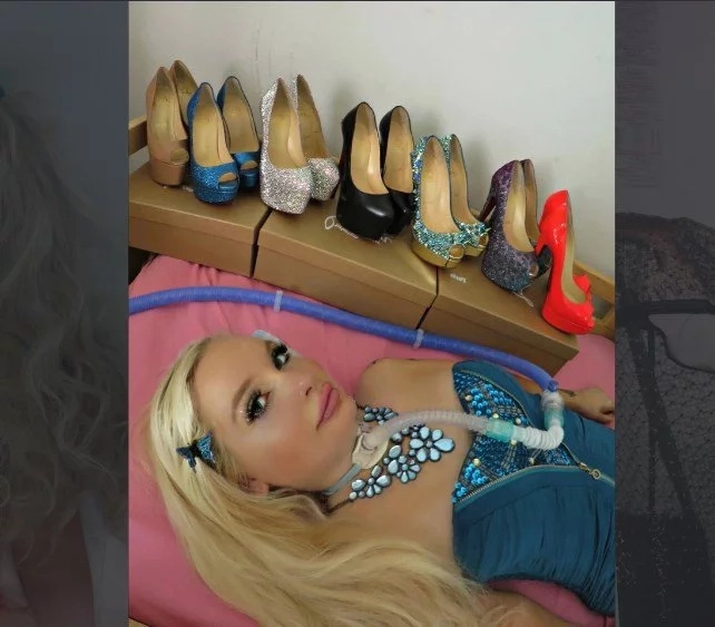 I'm quadrapalegic barbie: woman is 'freed from her wheelchair' by dressing up like her doll idol