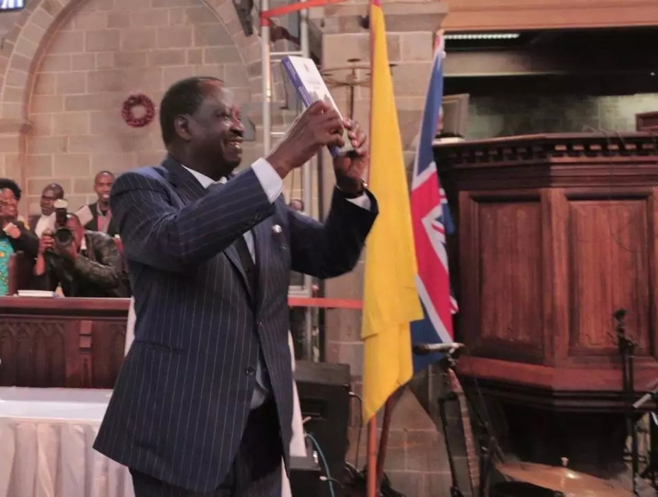 The punishment of treason is death by hanging -Moses Kuria tells Raila