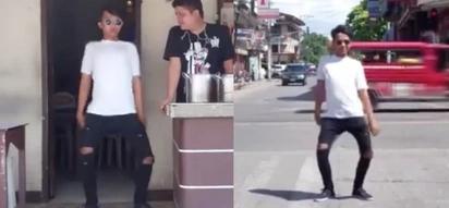 Kaya mo ba to? Boy starts Doobi Doobi Dap Dap challenge with entertaining video!