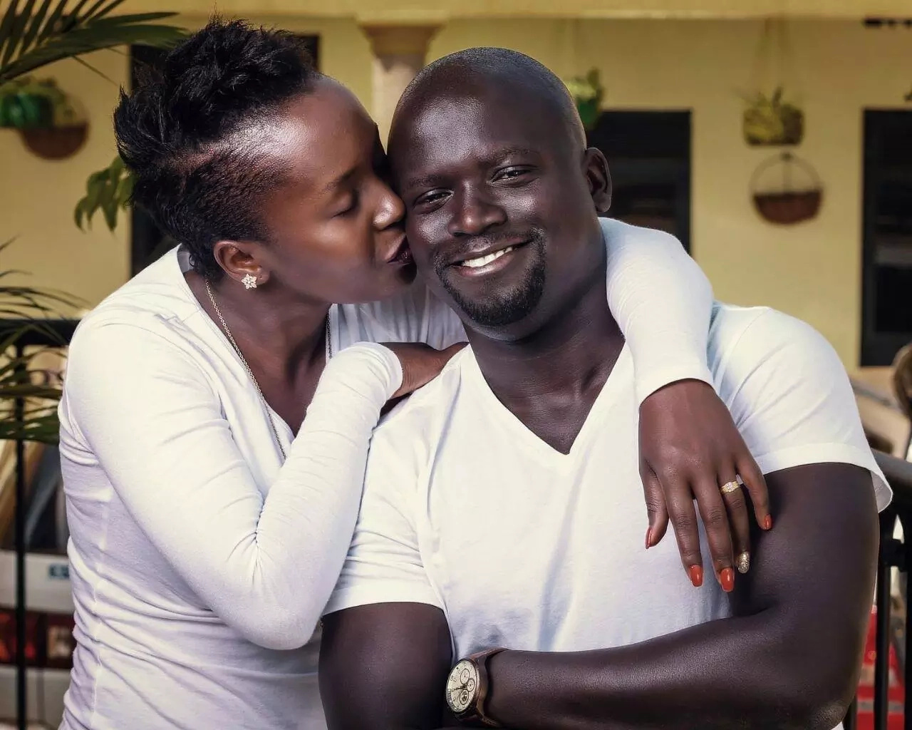 Comedienne Anne Kansiime's ex-hubby now becomes her business partner after breakup