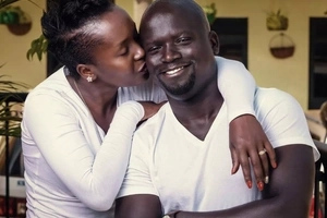 These 6 photos of comedian Ann Kansime with her husband will just melt your heart