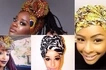 This girl is the ultimate queen of headwraps and she looks finer than any woman you've ever seen