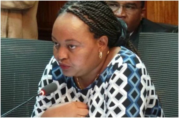 Waiguru claims DP Ruto's personal assistant benefited from NYS scam loot