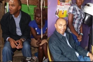 Peter Kenneth up and running, takes his campaign in the last place you'd find a politician