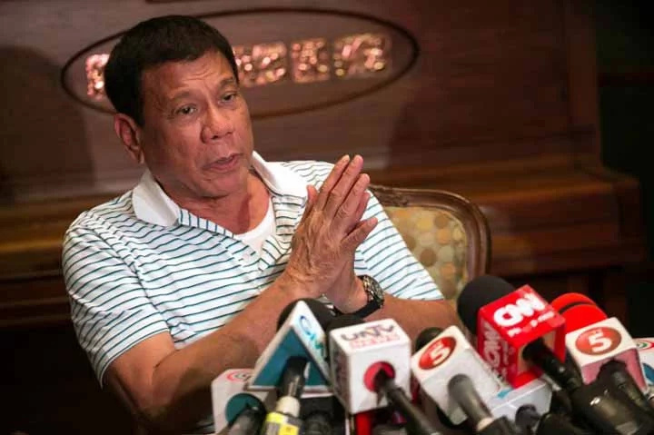 No media interviews till the end of my term – Duterte