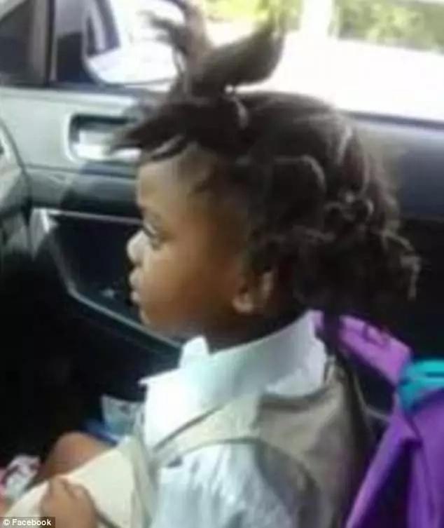 Her hilarious hair transformation. Facebook/Markeisha Simien