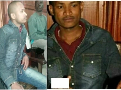 Bad boy extra-extraordinaire: MP Babu Owino shows the middle-finger while in court (photos)
