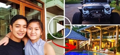 From rags to riches! You need to check out Coco Martin's luxurious vehicles & mansion!