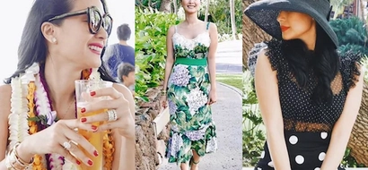 Heart Evangelista spends a luxurious vacation in style in Hawaii