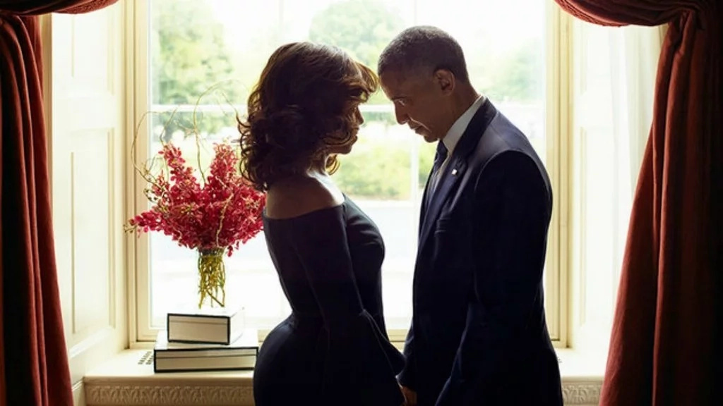 Barack and Michelle Obama have selected two black artists to paint their official portraits for the Smithsonian museum. Photo: Essence