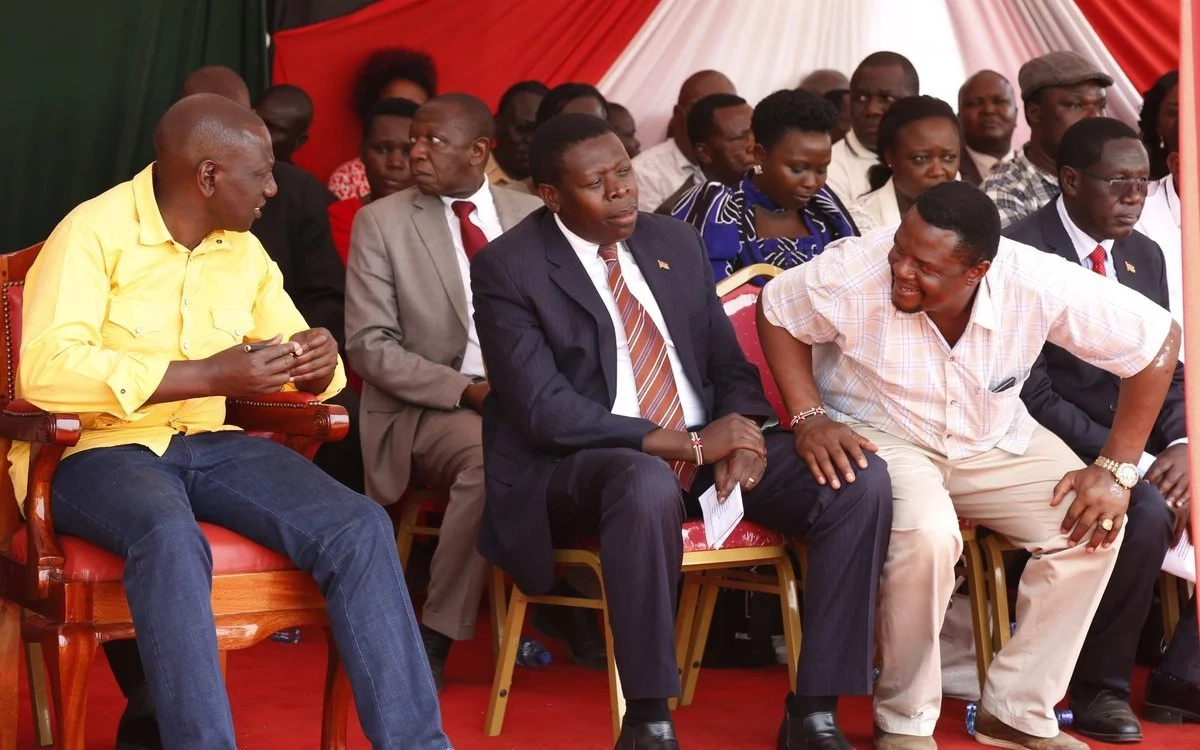 Deputy President Ruto presents Bungoma county with gifts and goodies worth KSh 300 million