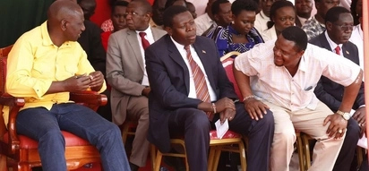 William Ruto in bitter exchange with Bungoma deputy governor over funding of key road