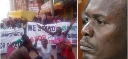 Kiambu Governor Kabogo threatens to lead a DEMO if IEBC fails to heed to his demands