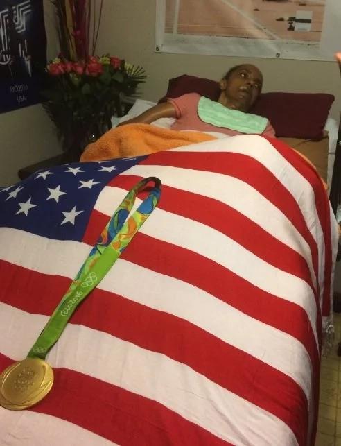 Atleta le prometió la medalla de oro a su madre con Alzheimer