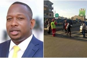 Sonko awatumia wanafunzi kumfanyia siasa baada yao kuandamana katika barabara ya Jogoo, Nairobi (Video)