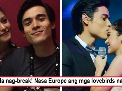 Oy, wag kayo! Kim Chiu and Xian Lim fly to Europe for the holidays, proves bashers wrong on 'breakup' stories