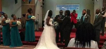 Mwimbaji Eunice Njeri afunga ndoa katika harusi ya kupendeza nchini Marekani (picha)