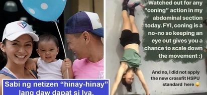 Baby daw dapat i-prioritize niya! Iya Villania receives numerous negative feedback from netizens after showing off workout stunts while pregnant