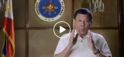 President Rodrigo Duterte gives us outrageous advice if we should pursue our crush