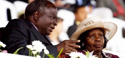 Mwai Kibaki's message to Kenyans as he mourns his late wife Lucy