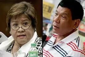 De Lima to counter Duterte on death penalty