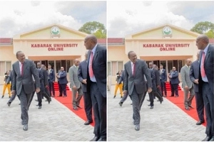 Governor Mutua shares why President Uhuru Kenyatta walks like a RASTA man