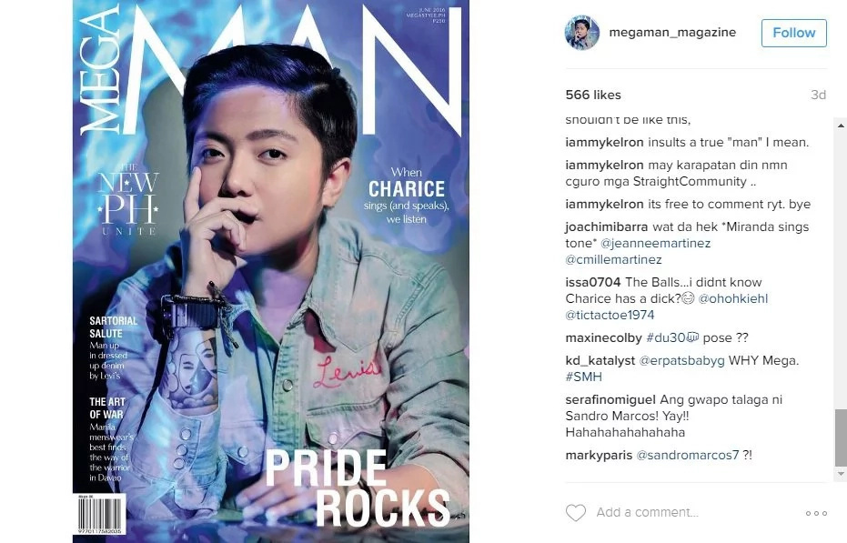 See how netizens reacted to Charice's men's mag cover