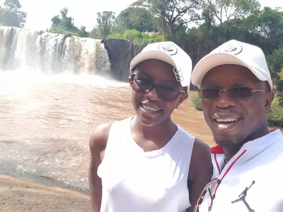 Ababu Namwamba takes his all-grown daughter on vacation and something peculiar comes out (photos)